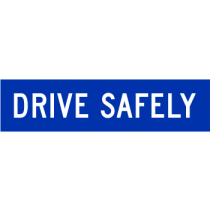 MMS-TER-1-1200300 DRIVE SAFELY  [LARGE]